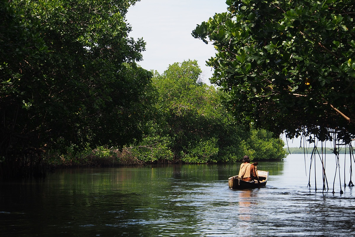 Lagunas de Chacahua se encuentra a 60 kilómetros de Puerto Escondido